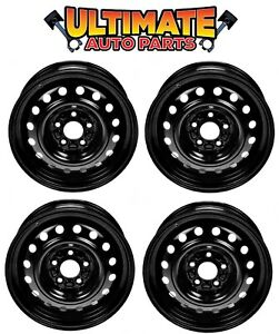 Steel Wheel Rim 16 Inch Wheels Set Of 4 For 07 15 Jeep Compass
