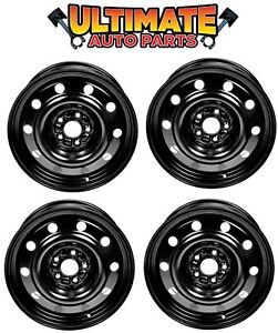 Steel Wheel Rim 17 Inch Wheels set Of 4 For 11 17 Ford Explorer