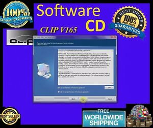 Software Cd For Can Clip Renault Diagnostic Interface Tool Multiple Languages