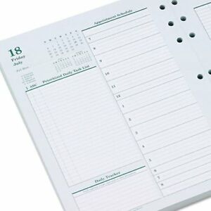 Franklincovey Original Dated Daily Planner Refill January December 8 1 2 X 11