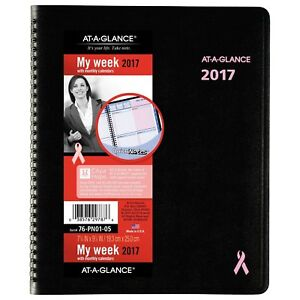 At a glance Weekly Monthly Appointment Book Planner 2017 Bca City Of Hope