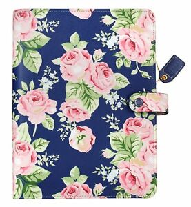 Webster s Pages A5 Navy Floral Appointment Book And Planner Refill Kit