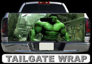 T260 Hulk Tailgate Wrap Vinyl Graphic Decal Sticker Laminated