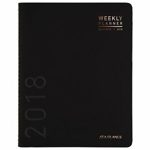 At a glance Weekly Monthly Planner January 2018 December 2018 8 1 4 X Will