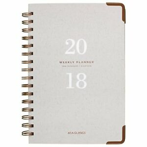 At a glance Weekly Monthly Planner January 2018 January 2019 5 3 4 X Gray