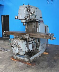 Kearney Trecker K t 415 S 15 Vertical Milling Machine 15 X 76 Table