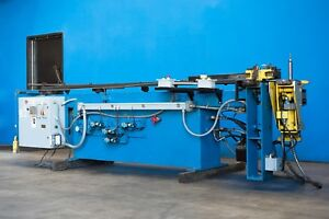 Pines Horizontal Hydraulic Tube Bender 1 1 2 X 0 188 Wt 4796