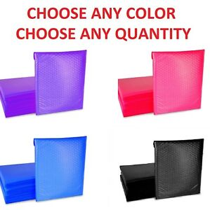 0 6x10 Poly Bubble Mailers Shipping Mailing Padded Bags Envelopes Color 6 X 9