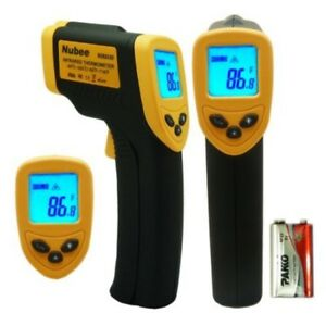 Nubee Temperature Gun Non Contact Digital Laser Infrared Ir Thermometer New