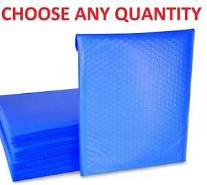 000 4x8 Blue Poly Bubble Mailers Shipping Mailing Padded Envelopes 4 X 7