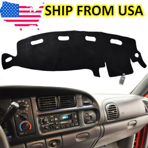 Dashboard Dash Mat Dashmat Sun Cover Pad For Dodge Ram 1500 2500 3500 1998 2001