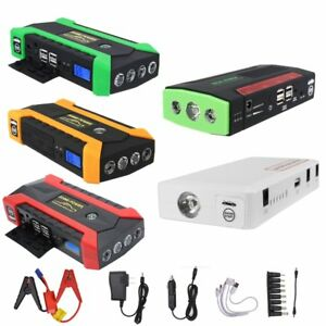 12v 16800 89800mah Car Jump Starter Booster Portable Battery Charger Power Bank