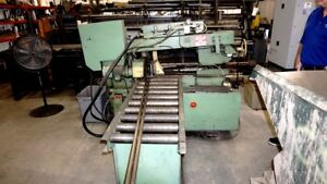 Doall Model C 260a Automatic Horizontal Band Saw With Loading Bed