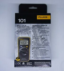 Fluke 101 Basic Pocket Digital Multimeter Genius English Version Free Shipping