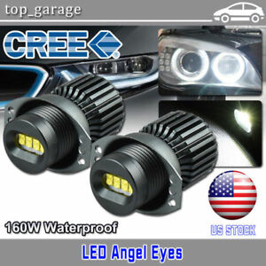 160w Cree Led Angel Eyes Halo Ring Light 2006 2008 Bmw E90 323i 328i 330xi 335i