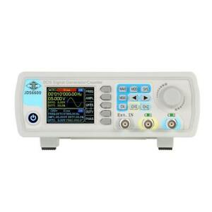 Jds6600 40mhz High Precision Dual Channel Dds Function Signal Generator Kit T3h7