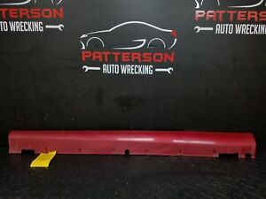 2006 Hyundai Tiburon Driver Left Lh Rocker Panel Trim Side Skirt Moulding Maroon