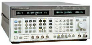Agilent Hp 8665b 004 Rf Synthesized Signal Generator 100 Khz To 6 Ghz