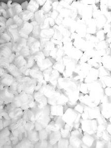 Packing Peanuts Shipping Static Loose Fill 150 Gallons 20 Cubic Feet White