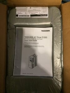 Yaskawa Z1000 Ac Drive For Hvac Fan And Pump Priced To Sell Now last Chance