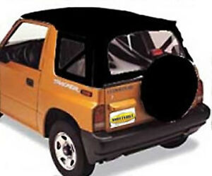 Denim Black Oe Style Soft Top For 86 94 Suzuki Sidekick Geo Tracker Smittybilt