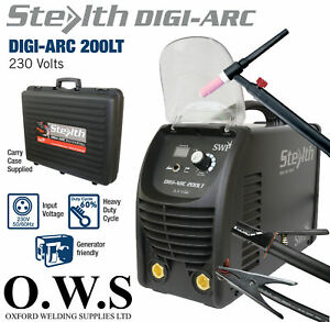 Swp Stealth Digi arc 205lt 200amp Inverter Mma Scratch Tig Weldi