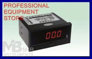 New 3 1 2 Dc200a Digital Panel Meter Dc Current Ampere Meter