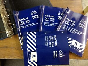 New Holland Tn55v Tn65v Tn75v Tn65n Tn75n Tractor Service Shop Repair Manual
