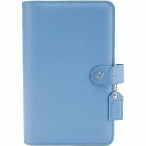 Color Crush Faux Leather Personal Planner Kit 5 5x8 sky