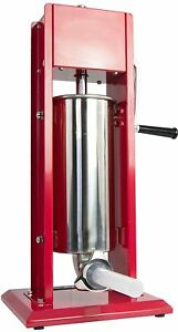 Vivo Sausage Stuffer Vertical Dual Gear Stainless Steel 5l 11lb 11 Pound Meat