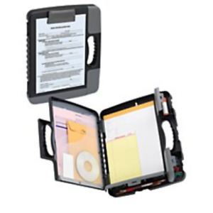 Office Depot Portable Clipboard Storage Case Charcoal 10025