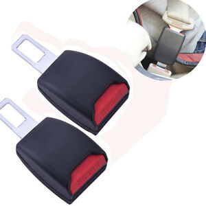 2pcs Universal Car Seat Seatbelt Safety Belt Extender Extension Buckle
