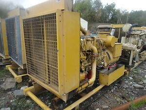 Caterpillar C15 Generator 350 Kw Continuous 240 480 3 Ph Genset C 15 Diesel Cat