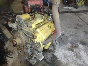 Detroit Diesel 6v53 Engine Runs Exc Hard To Find V6 53 Industrial Compressor