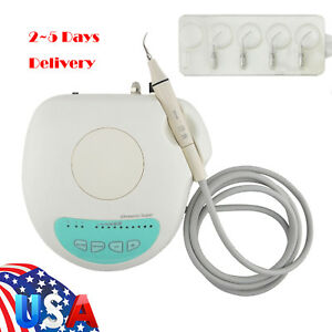 Dental Piezo Ultrasonic Scaler Teeth Cleaner Scaling Detachable Handpiece F Ems