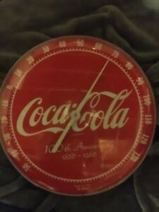 100th Anniversary Coca Cola Clock