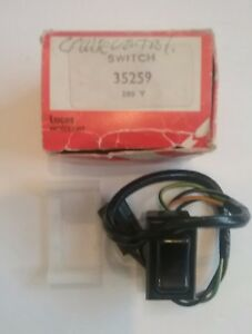 Jaguar Cruise Control Switch Lucas 35259 Fits Xj6 Xjs Nos