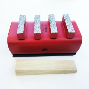 New 6pk Hard Concrete Diamond Grinding Block For Edco stow husq general Grinders