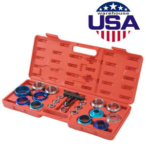 Crank Seal Removal Set Camshaft Bearing Remover Installer Installation Tool Kit