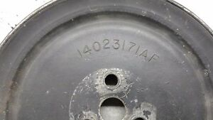 Corvette 1980 To 1982 Smog Pump Pulley
