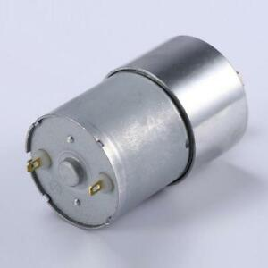 Diameter 37mm 12v Dc 1000rpm Gear box Speed Control Electric Motor Low Noise