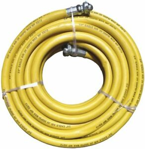 Jackhammer Rubber Air Hose 3 4 Inch Universal chicago Couplings 50 Ft Strength
