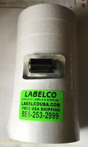 Monarch 1136 White Labels 64 Rolls 1 Case 112 000 Labels case Free Freight