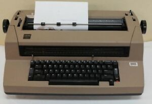Vintage Ibm Selectric Iii Auto Correcting Electric Typewriter Intermittent As Is