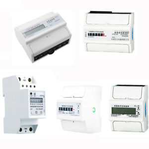 Ac Meter Electricity Meter Din Rail Kilowatt Hour Kwh Meter 15 Kinds Pick