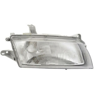 New Direct Fit Right Side Headlight Assembly Fits Mazda 323 Protege
