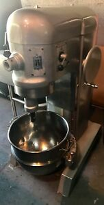 Hobart 60qt Mixer With Bowl And Attachments H600