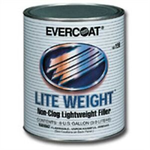 Evercoat 157 Lite Weight 3 Body Filler Quart Fibreglass