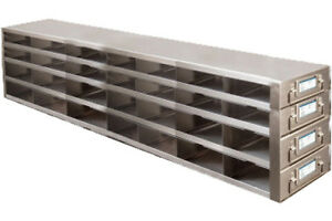 Freezer Drawer Racks For 96 well 384 well Mp Or Microtube Boxes Ufdmp 74