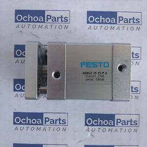Festo 554231 Compact Cylinder Adngf 25 15 p a Stroke 15mm Od Piston 25mm